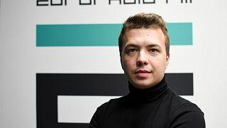 El periodista detenido Roman Protasevich