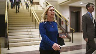 Abgeordnete der Republikaner Marorie Taylor Greene in Washington