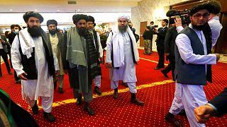 هیات طالبان در کنفرانس صلح مسکو