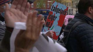 Kundgebung in Kopenhagen