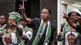 Zambiya Devlet Başkanı Edgar Lungu