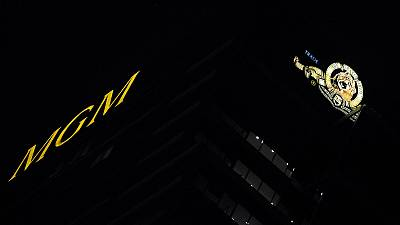 The MGM tower in Los Angeles, California.