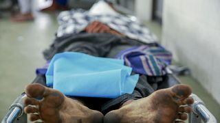 یکی از کشته شدگان میانمار توسط نظامیان