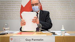 İsviçre Cumhurbaşkanı Guy Parmelin