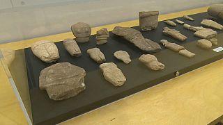 Des trésors archéologiques des Cyclades exposés à Athènes