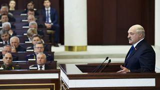 Alexandre Loukachenko, Minsk, 26 mai 2021
