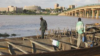 The Niger River is the third-longest river in Africa flowing through mutliple countries including Guinea, Mali, Nigeria, Niger.