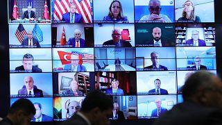 Erdoğan ABD merkezli şirketlerin yöneticileriyle görüştü