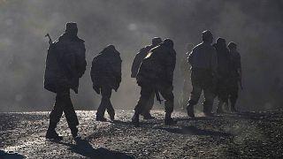 عکس آرشیوی از سربازان ارمنیتبار در قرهباغ