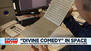 """Dante's """"Divine Comedy"""" will get launched into space"""