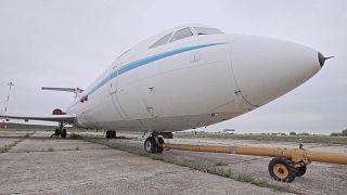 طائرة دكتاتور روماني سابق للبيع بالمزاد