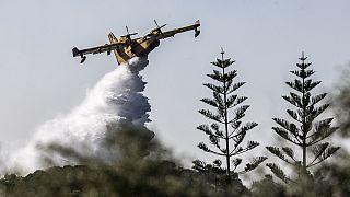 Κατάσβεση φωτιάς στην Ελλάδα (φωτογραφία αρχείου)