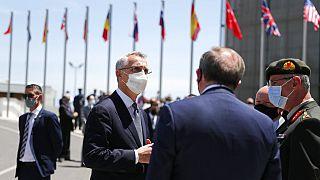 NATO-Generalsekretär Jens Stoltenberg in Portugal