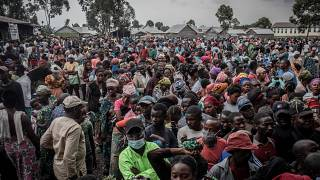 DRC: Tens of thousands flee Goma over fears of new eruptions