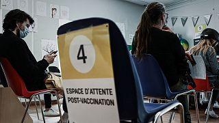 Centre de vaccination à Bordeaux, dans le sud-ouest de la France, le 26 mai 2021