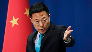 ژائو لیجان، سخنگوی وزارت امور خارجه چین