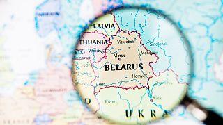 نقشه بلاروس