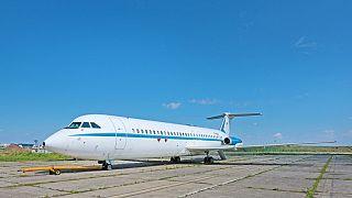 Eski Diktatör Nikolay Çavuşesku'nun filosunda bulunan Rumen yapımı Rombac marka uçak