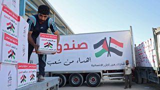 مساعدات مصرية