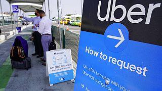 Cartel de Uber en el Reino Unido