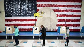 Голосование на президентских выборах 2020. Мидлотиан, Вирджиния