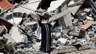 ویرانیهای حملات اسرائیل در جنگ غزه
