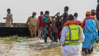 Nigeria: Search and rescue mission for passengers in Niger river