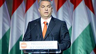 """Orban has been criticised for using the term """"Muslim invaders"""""""