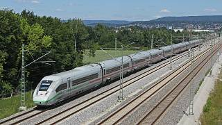 ICE 4 Baureihe 412 bei Baiersdorf