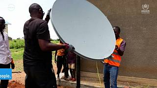 Boosting self reliance among refugees through satellite connectivity