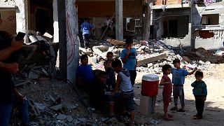 Gyermekhangok a gázai pokolból