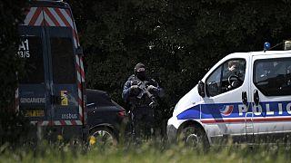 Nach dem Messerangriff in  la Chapelle-sur-Erdre bei Nantes