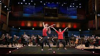 Exercises with the Royal Stockholm Philharmonic Orchestra