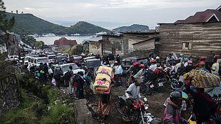 Huyendo del volcán Nyiragongo | 400 000 desplazados y riesgo de crisis humanitaria