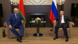 الرئيس الروسي يلتقي نظيره البيلاروسي ألكسندر لوكاشنكو