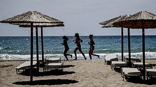 Am Strand von Kreta