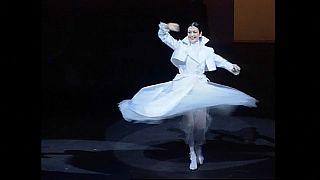 Carla Fracci, ancienne première ballerine à la Scala de Milan