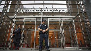 Vor der New York Times - ARCHIV