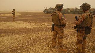 Mali'deki Fransız askerleri
