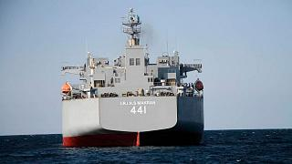 Iran-made warship Makran
