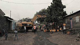 DRC: power lines rebuilt after Nyiragongo volcano eruption