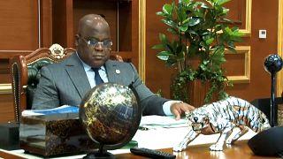 """RDC : Tshisekedi déclare la situation du volcan """"sous contrôle"""""""