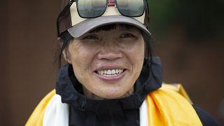 Kadın dağcı Tsang Yin-hung