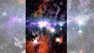 تصویر جدید ناسا از قلب کهکشان راه شیری