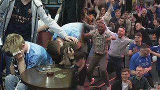 تصاویر شادی هواداران چلسی در غرب لندن پس از فتح لیگ قهرمانان اروپا