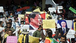 Ethiopia holds anti-US rally over Tigray, supports China and Russia