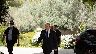 نفتالي بينيت رئيس حزب يمينة في القدس. 2021/05/05