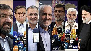 نامزدهای انتخابات ریاست جمهوری ایران