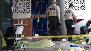 تیراندازی بیرون یک سالن پذیرایی در ایالت فلوریدای آمریکا
