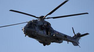 عکس تزئینی از هلیکوپتری در فرانسه